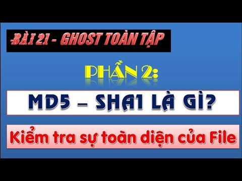 MD5 | Hướng dẫn cách check mã MD5, SHA1 bằng phần mềm chi tiết nhất
