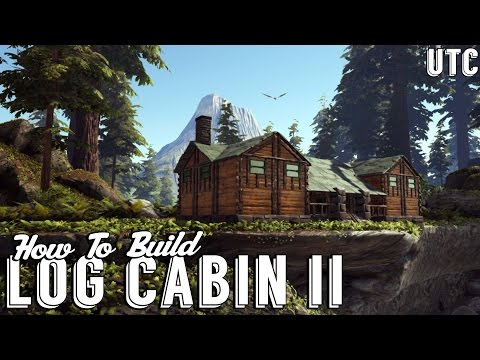Log Cabin 2 :: Ark Building Tutorial :: How To Build A Rustic Redwoods Cabin :: UTC Build Guide