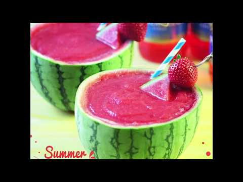 Watermelon Summer Slushie