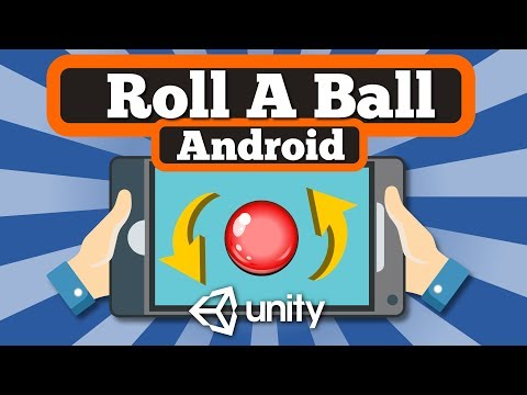 How to make simple Ball Ballance Android game using Accelerometer Input with Unity? Easy tutorial.