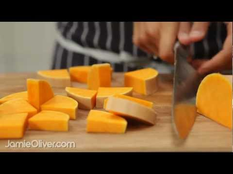How To - prepare butternut squash from curry rogan josh in 30-Minute Meals