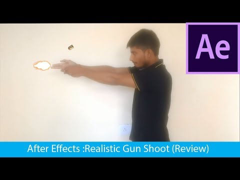 After Effects | Realistic Gun Shots (Review)