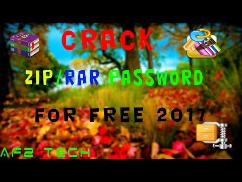 Crack RaR/Zip File Password 2017 | AF2 TECH