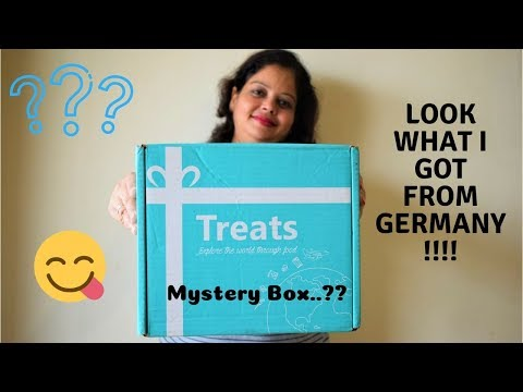 Reviewing and Unboxing Treats from TryTreats   Unboxing Treats from Germany - FoodConnection