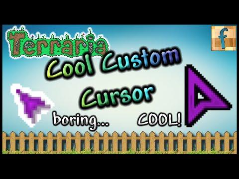 How to get a Cool Custom Cursor for Terraria   Tutorial