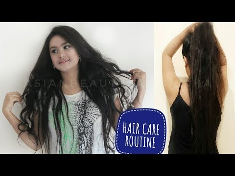 My Hair Care Routine | How To Get Thick Long Hair Fast | Get Silky Hair