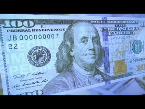 $100 bill has new scecurity features