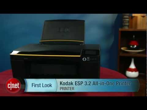 Kodak ESP 3.2 All-in-One Printer (video) - First Look