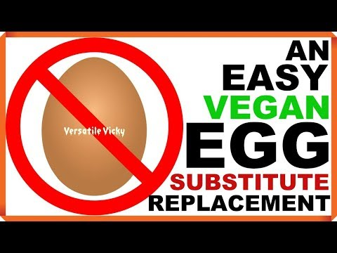 Egg Substitute | Egg Substitute Baking | Egg Substitute for Vegans | Best Egg Substitute