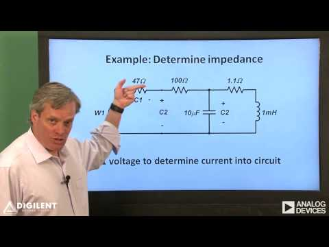 Real Analog - Circuits1 Labs: Ch10 Vid2: Impedance Measurement
