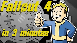 The Entire Story of FALLOUT 4 in 3 Minutes | Arcade Cloud