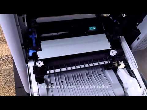HP M651, Replace Image Transfer Kit