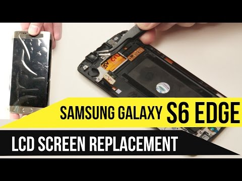 Galaxy S6 Edge Screen Replacement Video Guide