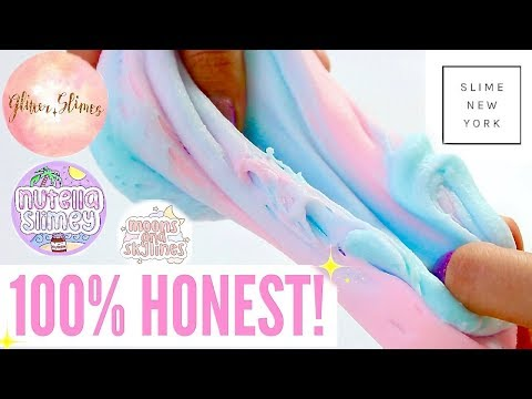 100% HONEST Famous Instagram Slime Shop Review! Famous US/UK Slime Package Unboxing