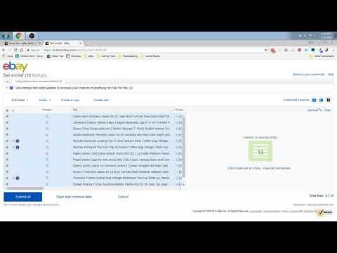 How to Bulk Edit Unsold Listings to Sell Similar on eBay: Hasty Hippo Hints #3