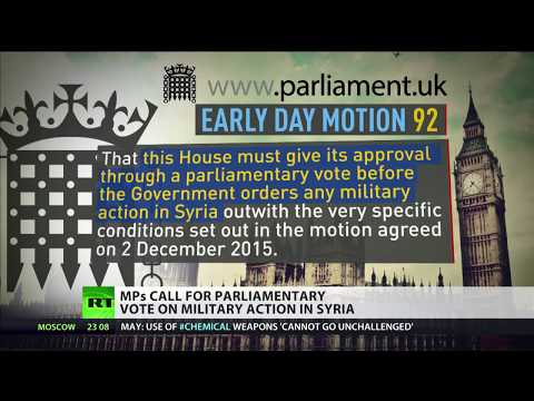 MPs call for parliamentary vote on military action in Syria