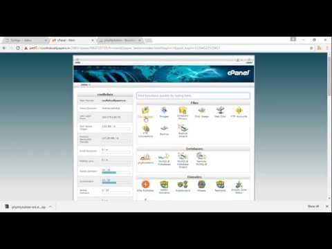 Access Phpmyadmin without cpanel
