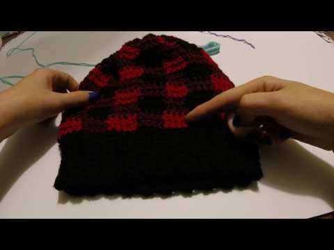 How To: Crochet Buffalo Plaid, tutorial, crochet stitches, learn to crochet