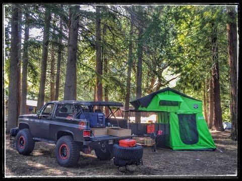 Merricks Garage - M1101 Trailer Build. Part 3 - CVT Roof Top Tent!!