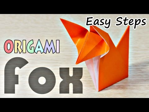 How To Make Paper Fox | Creative Origami Fox | Easy Steps To Follow