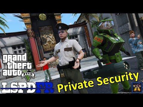 Vinewood Boulevard Private Security Patrol | GTA 5 LSPDFR Episode 309