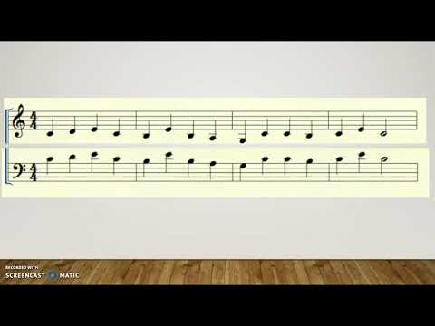 Transposing from Treble into Bass Clef