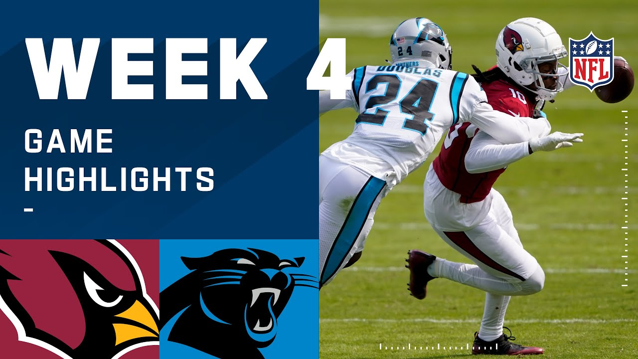 Cardinals vs. Panthers Week 4 Highlights | NFL 2020