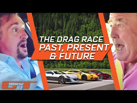 The Grand Tour: Aventador, NSX, and Rimac Drag Race
