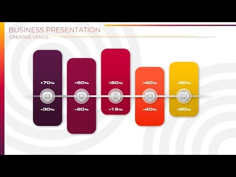 How To Design Beautiful Growth and Decline Business Chart in Microsoft Office 365 PowerPoint PPT