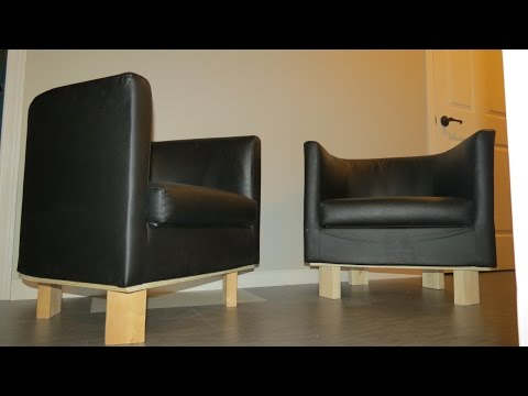 Replacing old chair legs