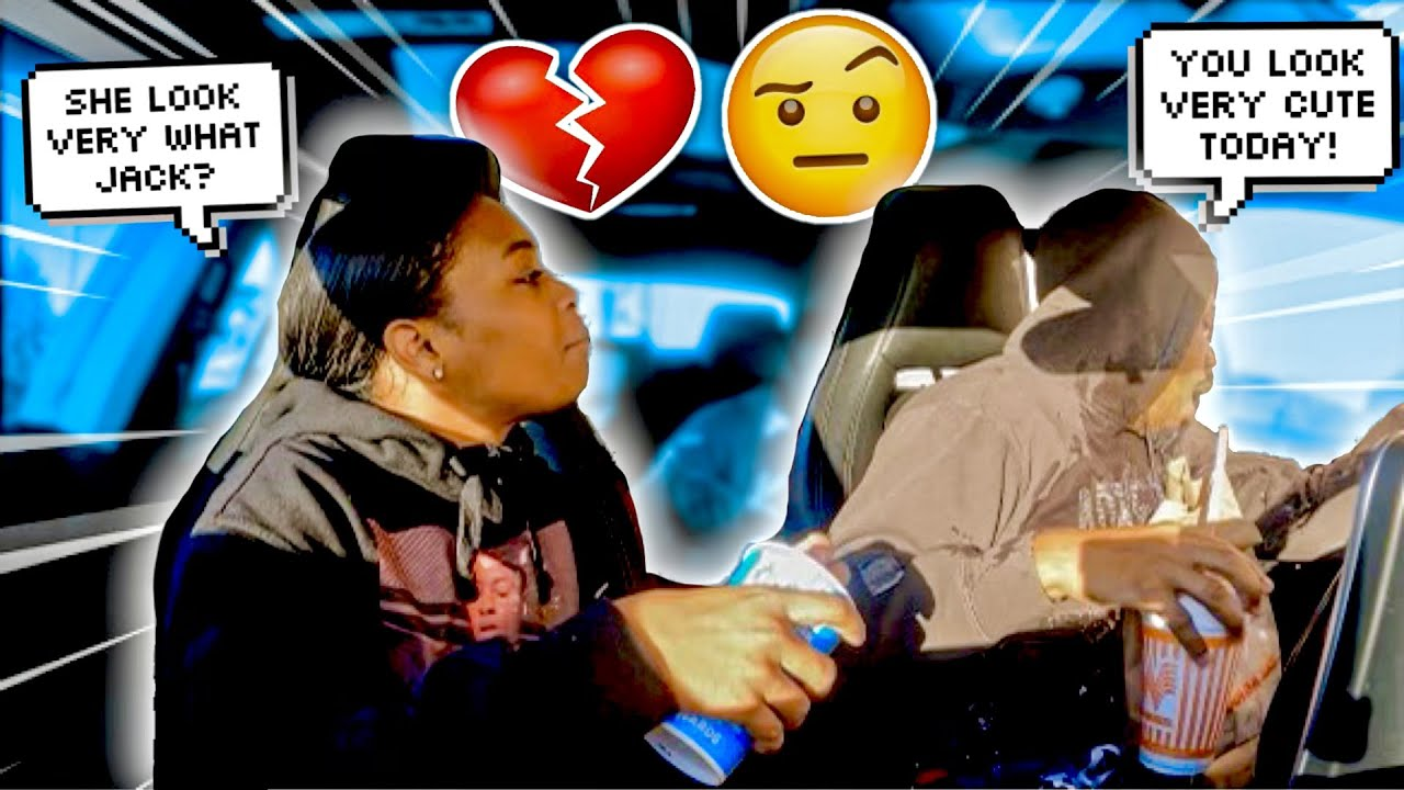FLIRTING WITH DRIVE THRU EMPLOYEES IN FRONT OF MY GIRLFRIEND!