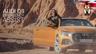 Audi Q8 Test Drive: Emergency Assist