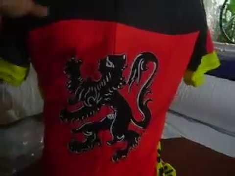 Belguie Bike Jersey, Belgium Cycling Shirt by Bikingthings