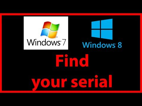 How to find out your Windows product key (CD serial) tutorial
