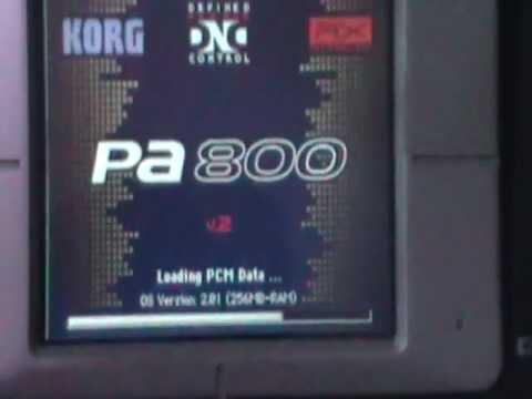 KORG PA800 256MB RAM