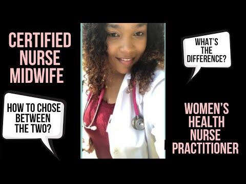 Certified nurse midwife vs Women's health nurse practitioner