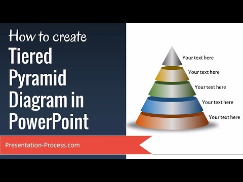 How to create Tiered Pyramid Diagram in PowerPoint