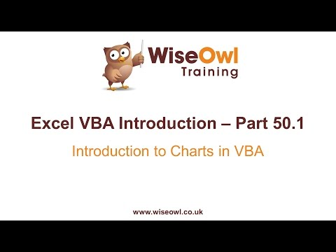 Excel VBA Introduction Part 50.1 - Introduction to Charts in VBA