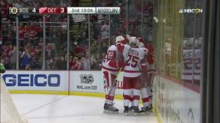 Vanek makes slick no-look pass to set up Athanasiou