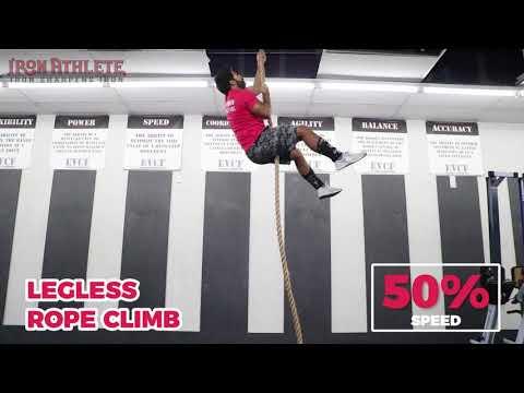 legless rope climb