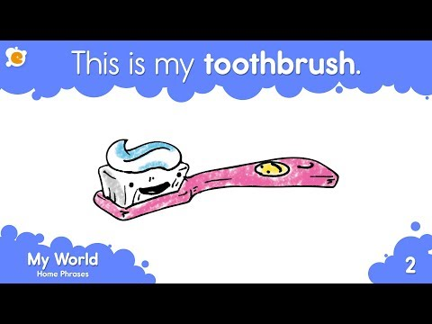 This Is My Toothbrush   Home Vocabulary and Pattern Practice for Kids