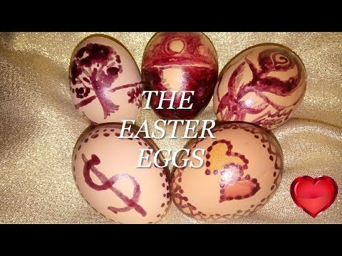 THE MOST BEAUTIFUL AND EASIEST WAY HOW TO DECORATE EASTER EGGS  NATURAL COLOR