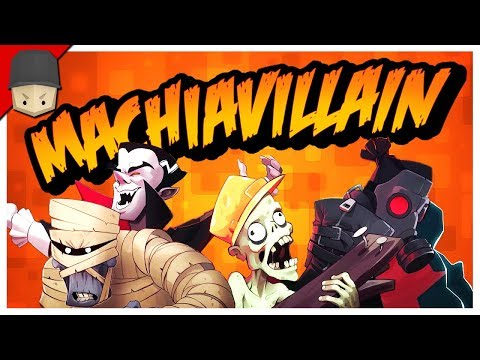 Let's Build a Haunted Mansion! - MachiaVillain Gameplay