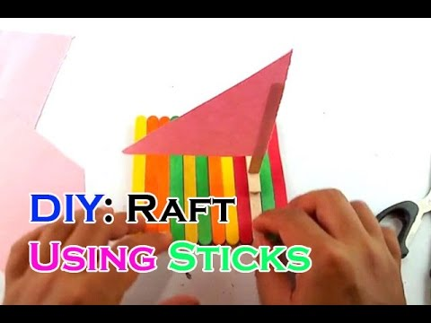 DIY a Boat using Popsicle Sticks
