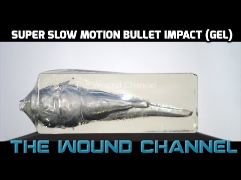 Incredible Super Slow Motion Bullet Impact! - M855A1