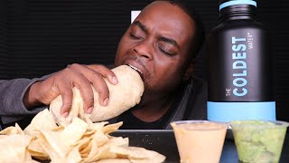 CHIPOTLE MUKBANG - HUGE STEAK BURRITO - BIG BITES - LIFE UPDATES! | BEAST MODE