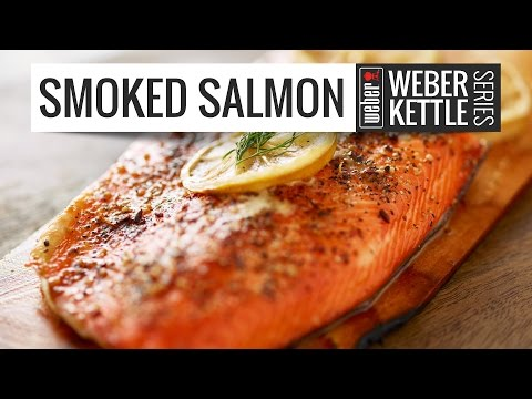 Smoked Salmon on Kettle Grill   Simple, Easy and Fast Smoked Salmon BBQ