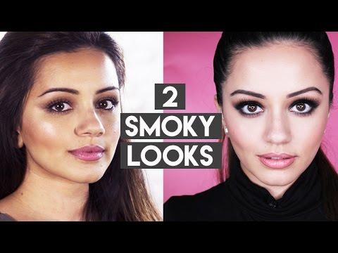 2 SMOKY EYE Makeup Tutorials: EVERYDAY + EVENING SELENA GOMEZ INSPIRED | Kaushal Beauty best bits