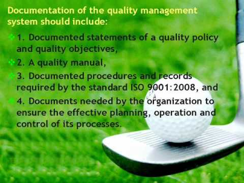 Develop Quality Management System Documentation In ISO 9000 Standards