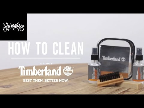 Journeys How To Clean Your Timberlands